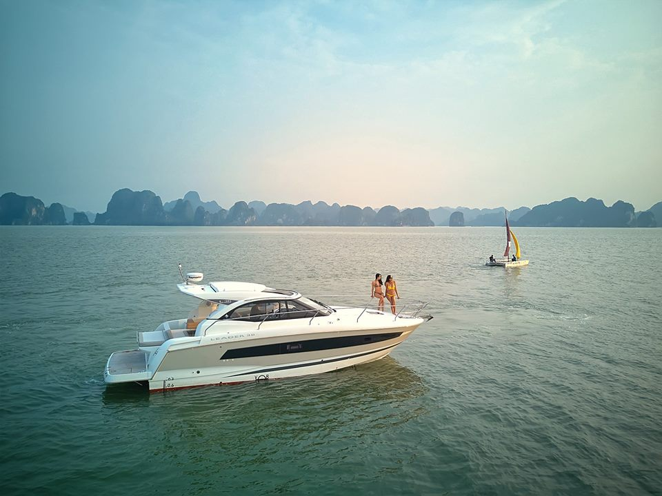 Halong Yacht Tours with Jeanneau Leader 36