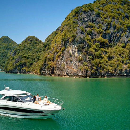 Halong Bay Yacht Cruise with Jeanneau Leader 36