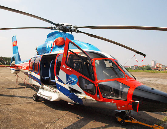 Eurocopter EC155 B1 to Halong Bay