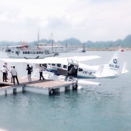 Seaplane to Halong Bay from Hanoi